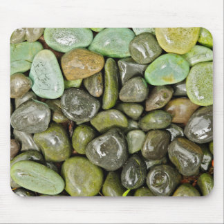 Decorative landscaping rocks mouse pad