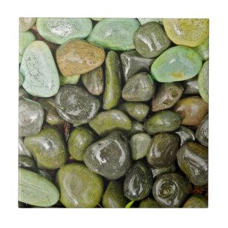 Decorative landscaping rocks tile