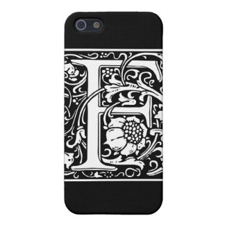 """DecorativeLetter Initial """"F"""" Case For iPhone 5/5S"""