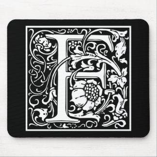 "DecorativeLetter Initial ""F"" Mouse Mat"
