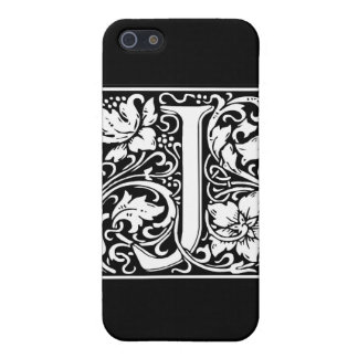 """DecorativeLetter Initial """"J"""" Case For iPhone 5/5S"""