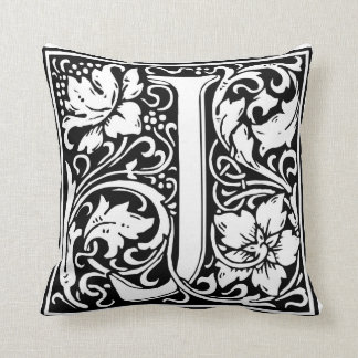 "Decorative Letter Initial ""J"" Cushion"