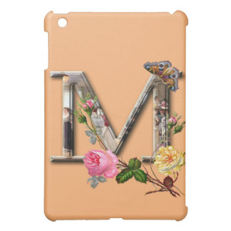"Decorative Letter Initial ""M"" iPad Mini Case"