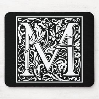"DecorativeLetter Initial ""M"" Mouse Mat"