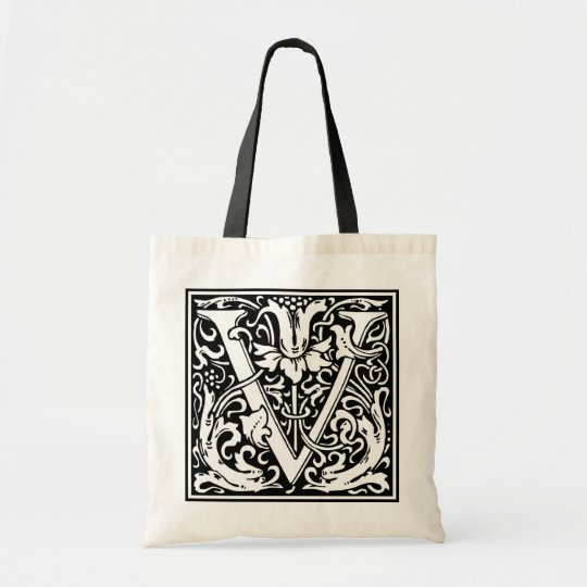 "Decorative Letter Initial ""V"""