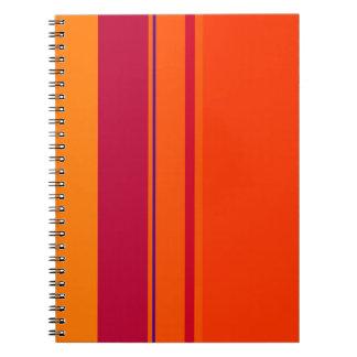 Decorative line design by Moma Spiral Notebooks