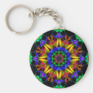 Decorative Mandala Keychain