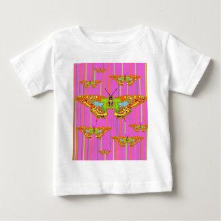 Decorative Modern Butterfly Pink Art Design Shirts