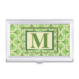 Decorative Monogram Business Card Holder