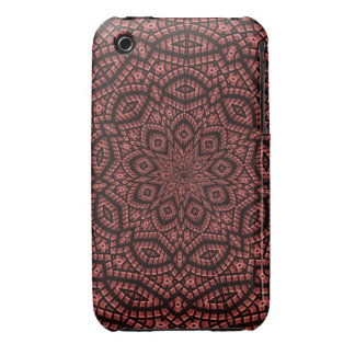 Decorative mosaic art Case-Mate iPhone 3 cases