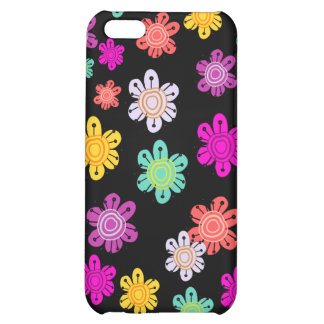 Decorative Multicolored Flowers iPhone 5C Cover