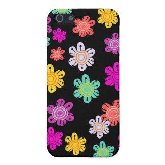 Decorative Multicolored Flowers iPhone 5 Case