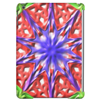 Decorative multicolored pattern iPad air cover