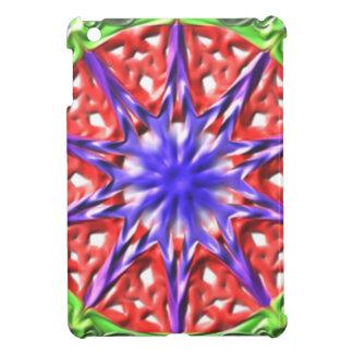 Decorative multicolored pattern iPad mini cover