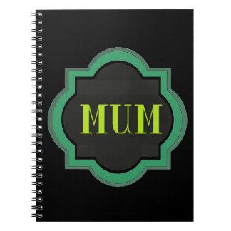 Decorative Mum Notebook
