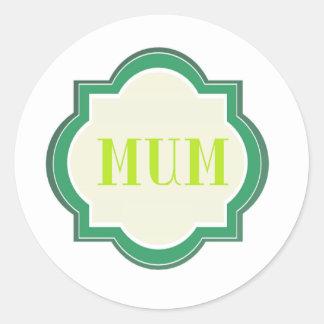 Decorative Mum Stickers