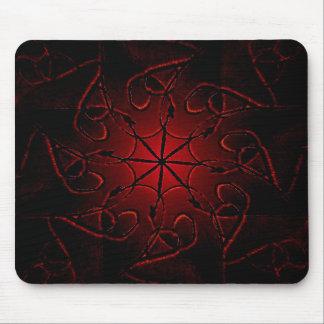 Decorative Mystic Symbol Mouse Pad