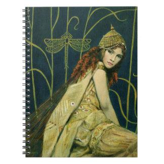 Decorative Nymph Note Book
