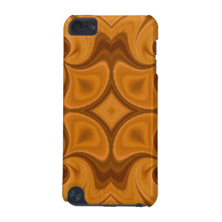Decorative Orange wood pattern iPod Touch (5th Generation) Case