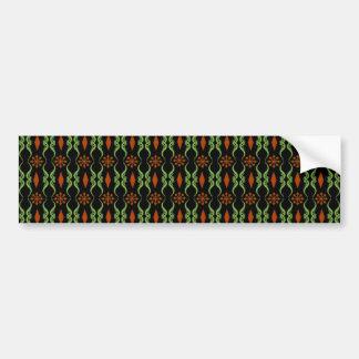 Decorative Ornate Stripe Bumper Sticker