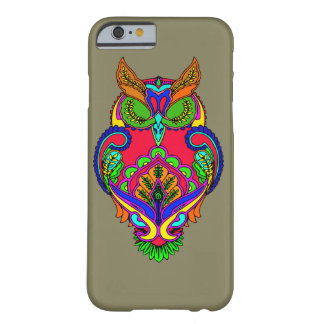 Decorative owl barely there iPhone 6 case