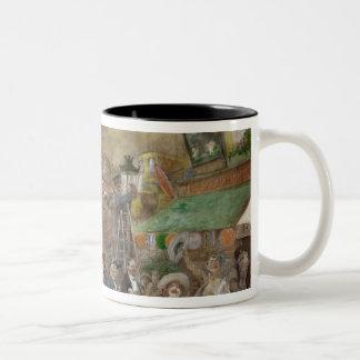 Decorative panel depicting Paris Two-Tone Mug