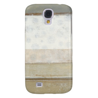 Decorative Panel Painting in Neutral Colors Galaxy S4 Case