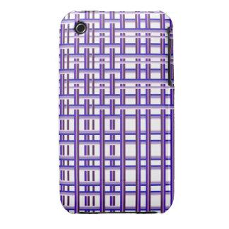 Decorative Pattern iPhone 3G/3GS Case Purple Weave