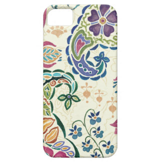 Decorative Peacock and Colorful Flowers iPhone 5 Case