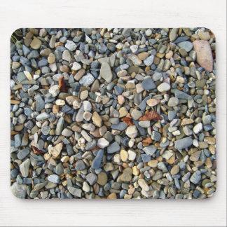 Decorative Pebbles Stone, Gravel texture Mouse Pad