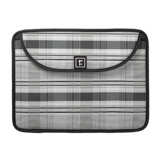Decorative plaid pattern sleeves for MacBook pro