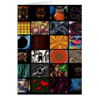 Decorative  Pop Arts Pattern Card