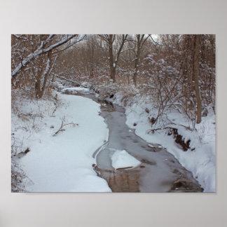 Decorative Posters, Winter Seasons. Poster