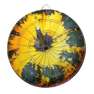 decorative pumpkins dartboard