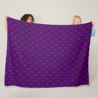 Decorative Purple Armani Jewel Stock Fleece Blanket