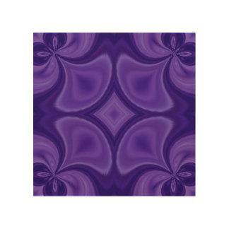 Decorative Purple wood pattern Wood Wall Art