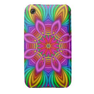 Decorative rainbow Fantasy Flower Case-Mate iPhone 3 Cases