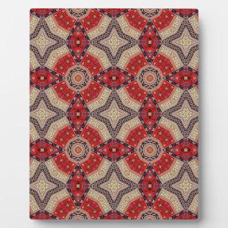 Decorative Red Retro Art Plaque