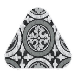 Decorative Renaissance Rosette Tile Design