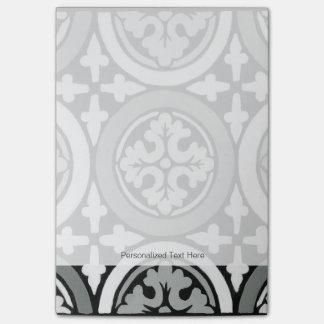 Decorative Renaissance Rosette Tile Design Post-it Notes