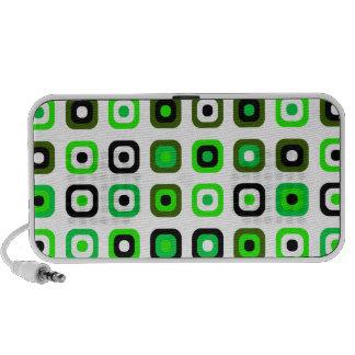 Decorative retro bright Green portable speaker