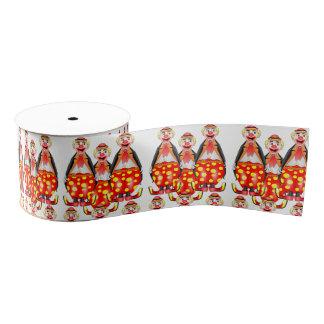 decorative ribbon children clowns grosgrain ribbon