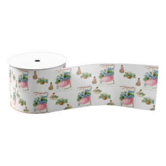 decorative ribbon easter bunny grosgrain ribbon