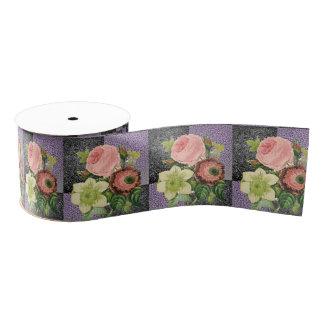 decorative ribbon floral grosgrain ribbon