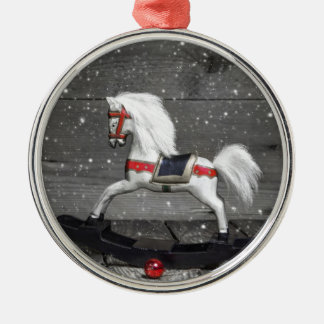 Decorative Rocking Horse Christmas Ornament