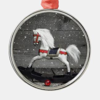 Decorative Rocking Horse Christmas Ornament