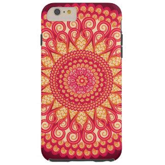 decorative round tribal ethnic ornament tough iPhone 6 plus case