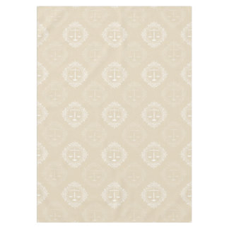 Decorative Scales of Justice Pattern | Cool Gifts Tablecloth