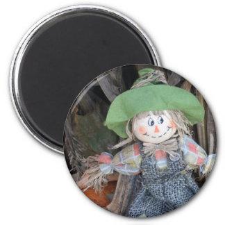Decorative Scarecrow Magnet