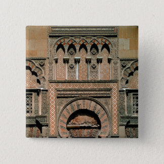 Decorative scheme above the doorway 15 cm square badge